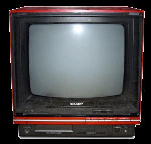 تلویزیون قدیمی شارپ