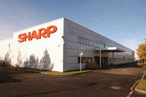 تاریخچه شرکت شارپ