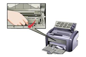 گیر کردن کاغذ در پرینتر شارپ