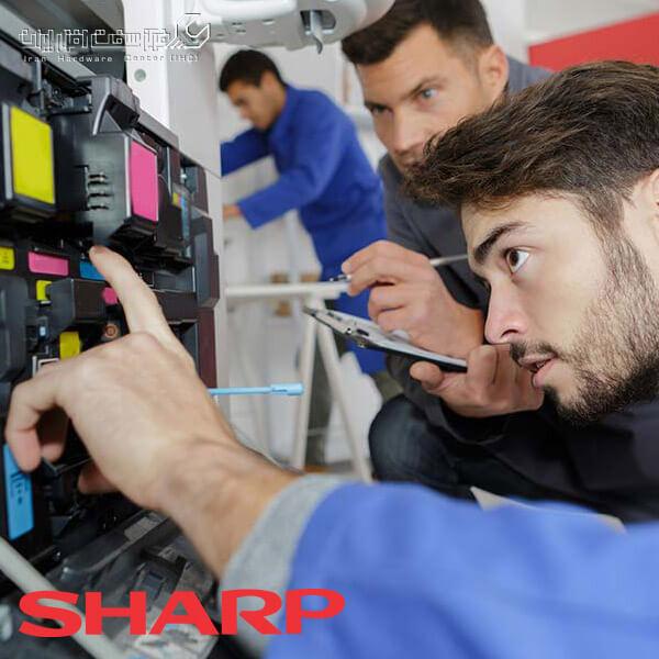 آموزش تعمیر دستگاه کپی شارپ