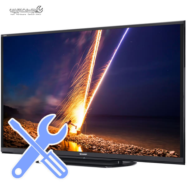 آموزش تعمیر تلویزیون شارپ