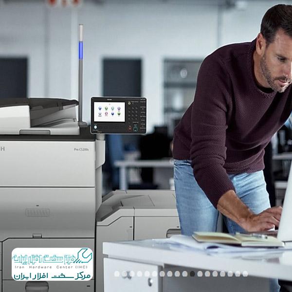 وصل کردن دستگاه کپی شارپ به کامپیوتر