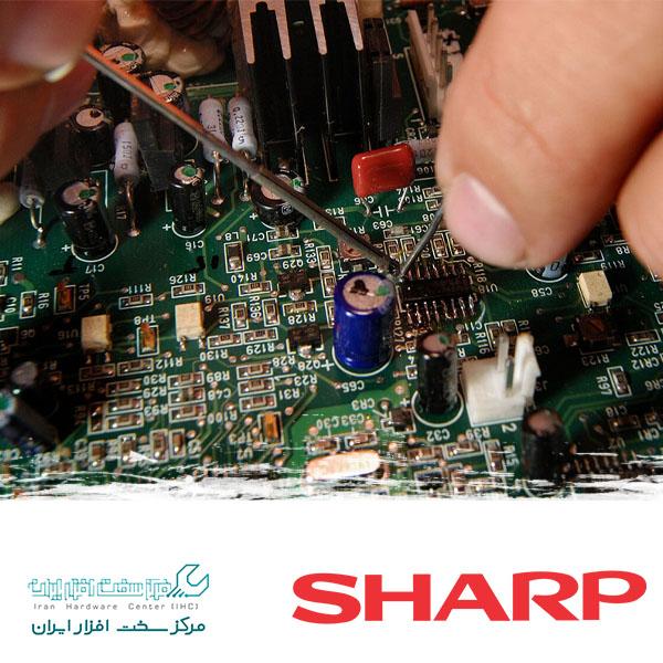تعمیر آمپلی فایر تلویزیون شارپ